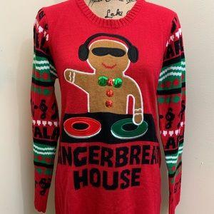 Ugly Christmas Tunic Sweater